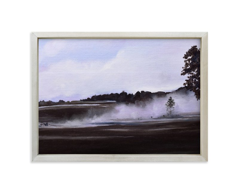 """""""Chandler Farm"""" - Art Print by Emma Ballou in beautiful frame options and a variety of sizes."""