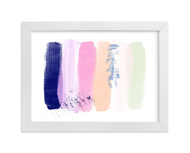 """Pinceladas "" - Art Print by Juliana Zimmermann in beautiful frame options and a variety of sizes."
