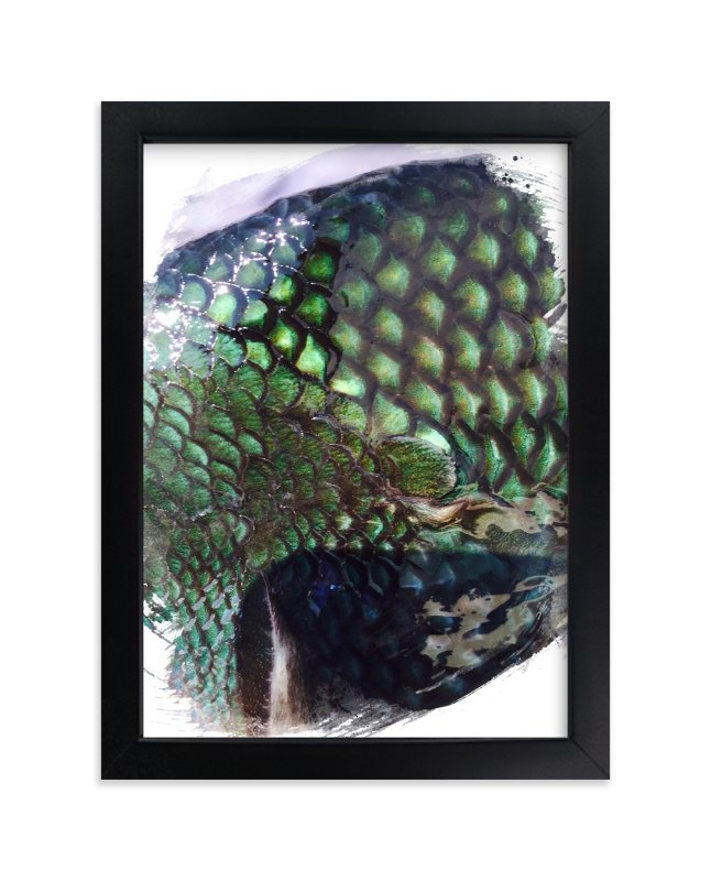 """Abstract Scales ll"" - Art Print by CaroleeXpressions in beautiful frame options and a variety of sizes."