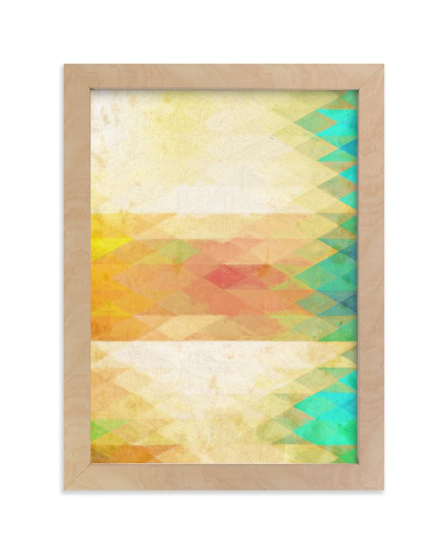 """""""The hammock"""" - Art Print by Alex Isaacs Designs in beautiful frame options and a variety of sizes."""