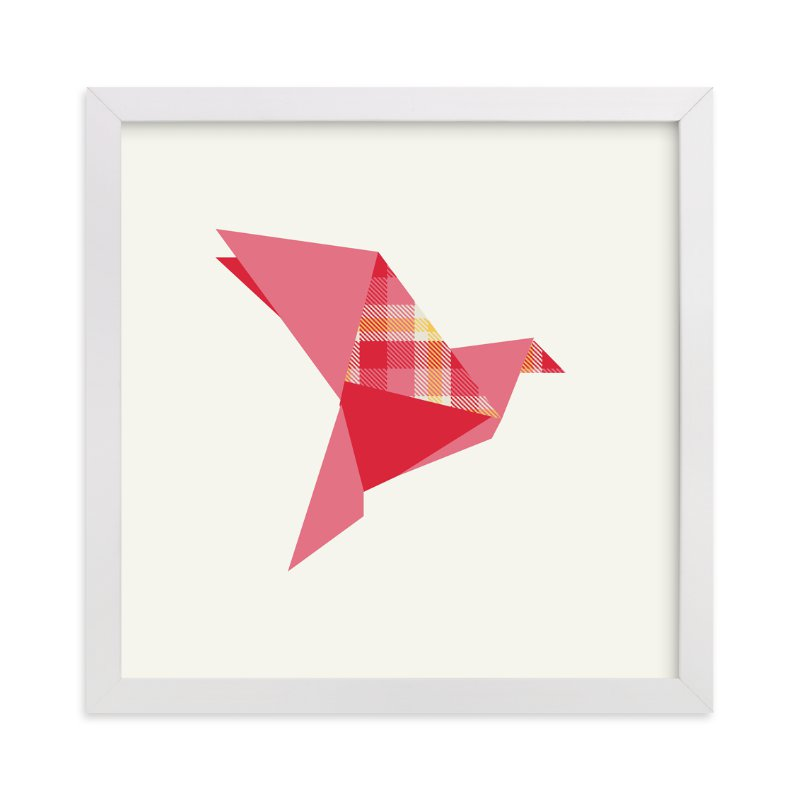 """Origami Flight"" - Art Print by Vanessa Wyler in beautiful frame options and a variety of sizes."