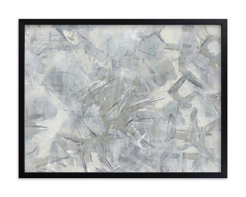 """""""Neutral Storm"""" - Art Print by Angela Simeone in beautiful frame options and a variety of sizes."""