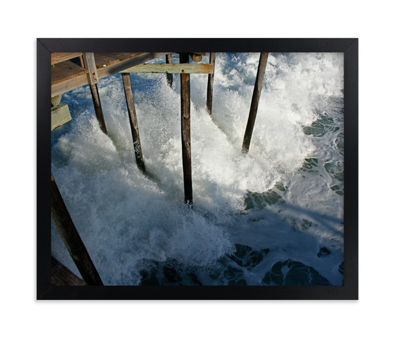 """""""Crashing Wave"""" - Art Print by AJD in beautiful frame options and a variety of sizes."""