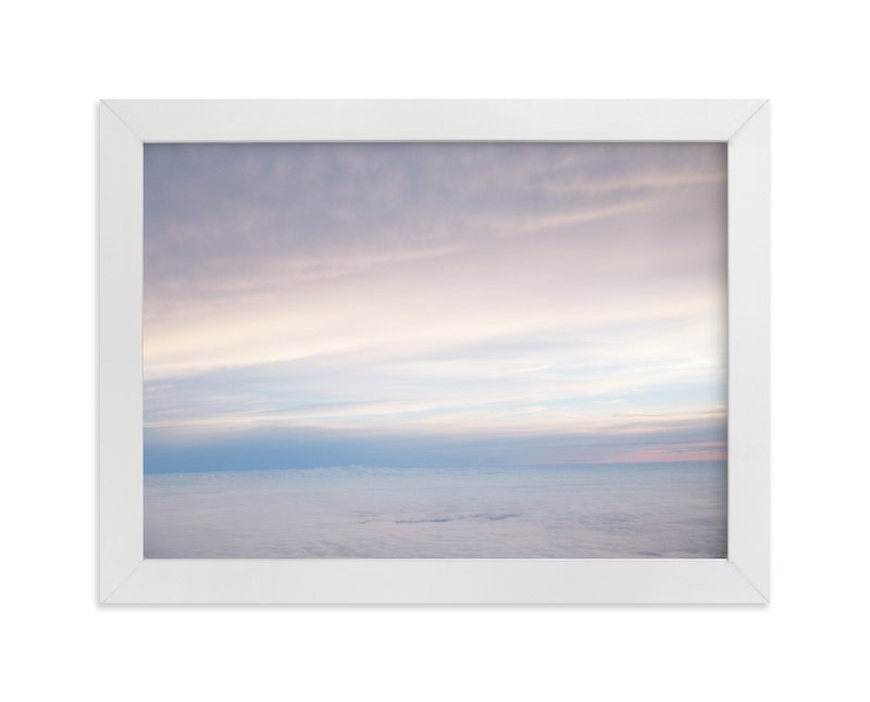 """""""High Above the Clouds"""" - Art Print by Gray Star Design in beautiful frame options and a variety of sizes."""