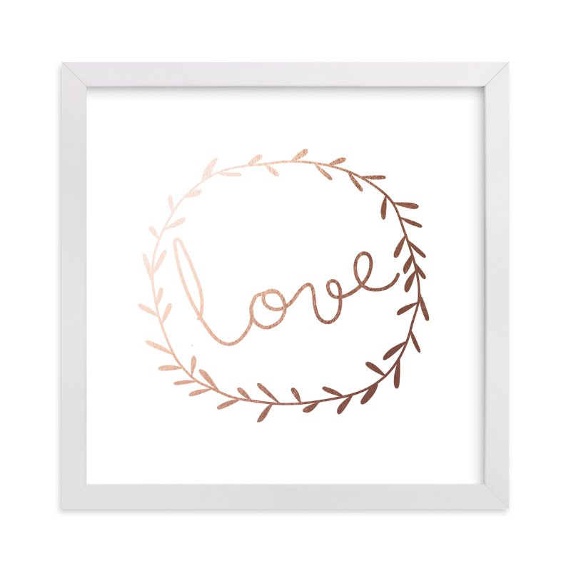 """""""Love Is Always There"""" - Art Print by Angela Thompson in beautiful frame options and a variety of sizes."""