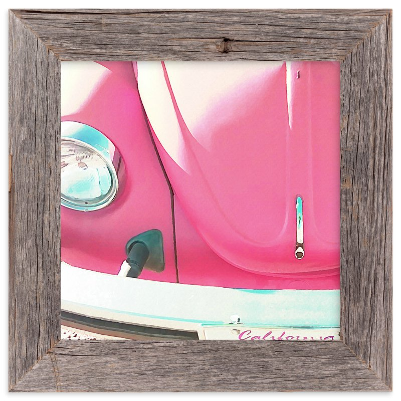 """""""Punch Buggy"""" - Art Print by Skoodler Designs in beautiful frame options and a variety of sizes."""