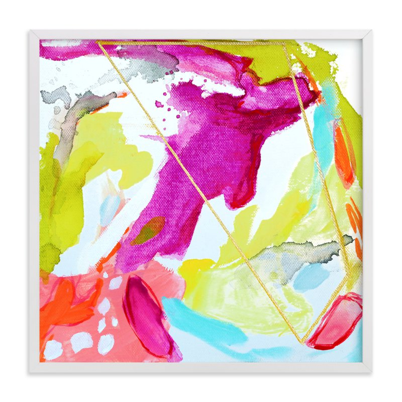 """Fresh Squeezed #1"" - Art Print by Mya Bessette in beautiful frame options and a variety of sizes."