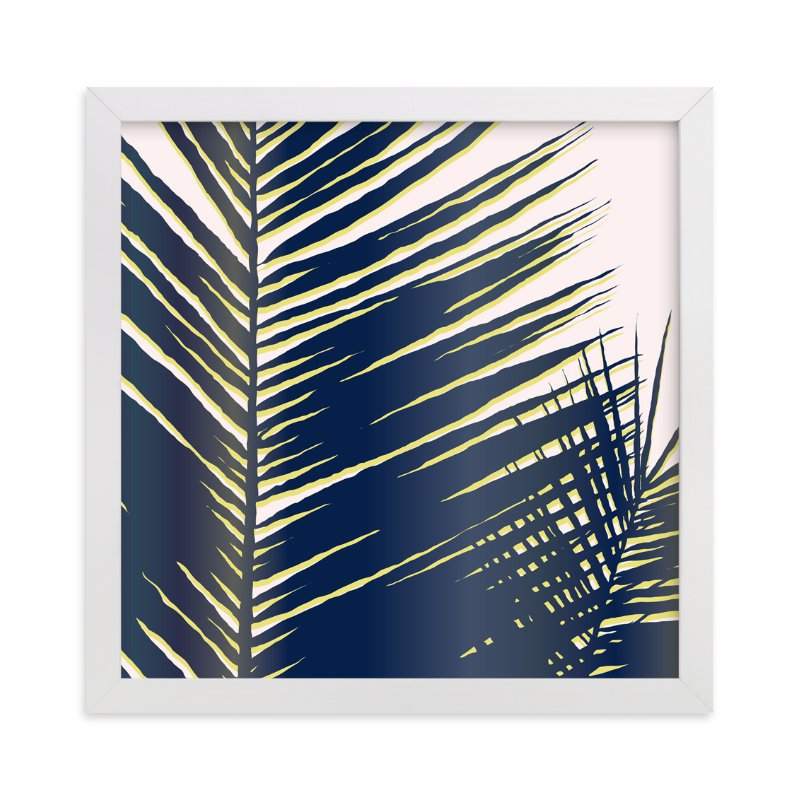 """""""Palm Study #4"""" - Art Print by Cindy Lackey in beautiful frame options and a variety of sizes."""