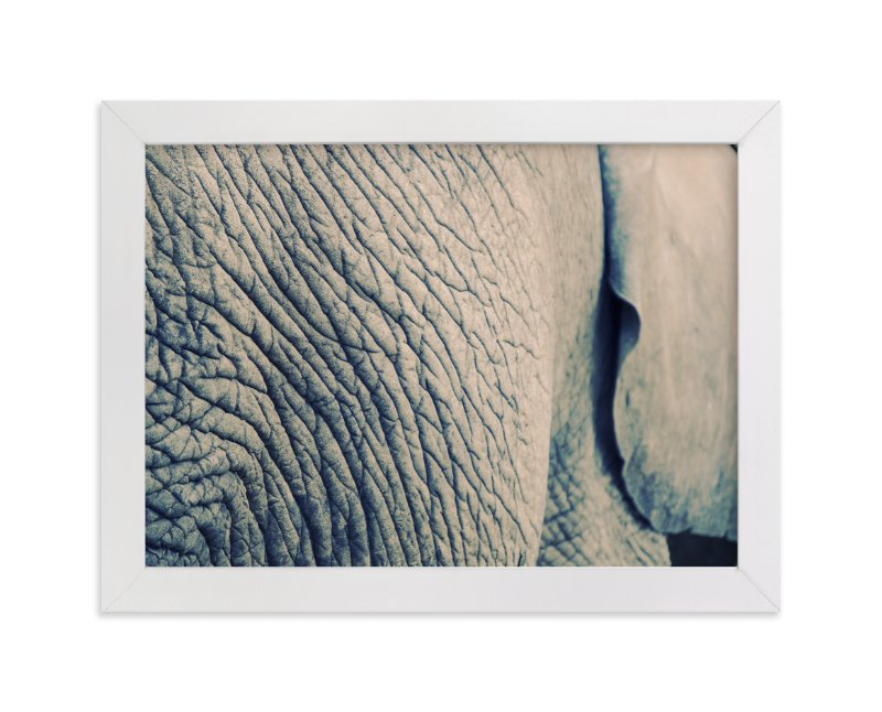 """""""Ele"""" - Art Print by LemonBirch Design in beautiful frame options and a variety of sizes."""