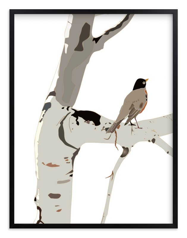 """""""Sitting Pretty"""" - Art Print by Pat Jennings in beautiful frame options and a variety of sizes."""