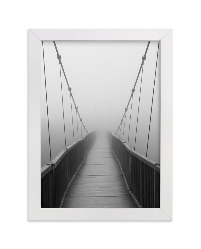 """""""Mile High Bridge"""" - Art Print by Julie Blackwood in beautiful frame options and a variety of sizes."""