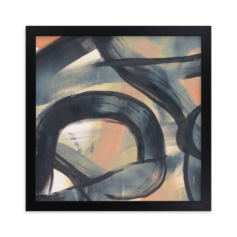 """""""Neutral Roads Series 1"""" - Art Print by Angela Simeone in beautiful frame options and a variety of sizes."""