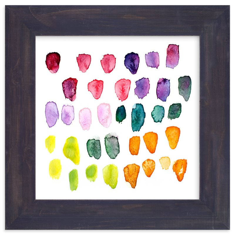 """""""Watercolor Study"""" - Art Print by Stacy Kron in beautiful frame options and a variety of sizes."""