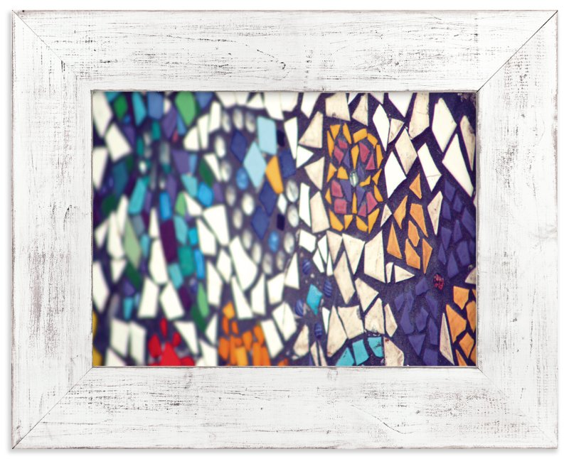 """Brightly Mosaic"" - Art Print by Smile Peace Love in beautiful frame options and a variety of sizes."