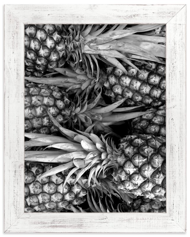 """""""A Pineapple for the Teacher"""" - Art Print by Skoodler Designs in beautiful frame options and a variety of sizes."""