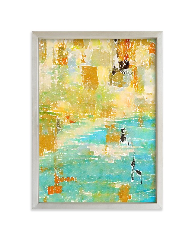 """Water Reflected"" - Art Print by Amy Lighthall in beautiful frame options and a variety of sizes."