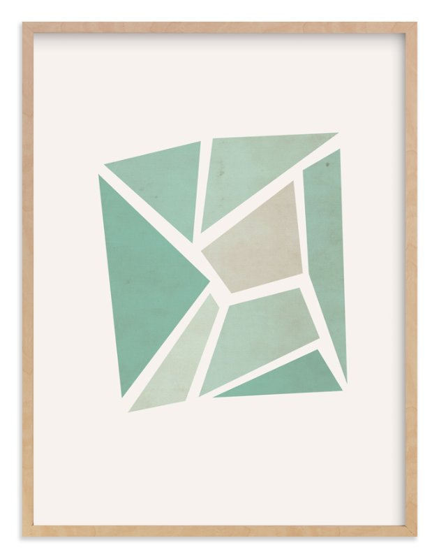 """Shattered Series Square"" - Art Print by Jennifer Morehead in beautiful frame options and a variety of sizes."