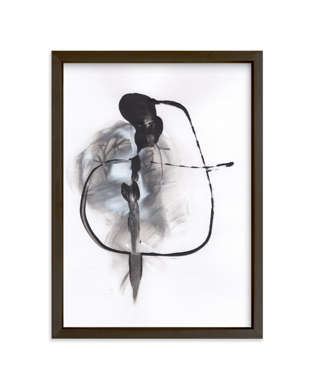 """Quip"" - Art Print by Misty Hughes in beautiful frame options and a variety of sizes."