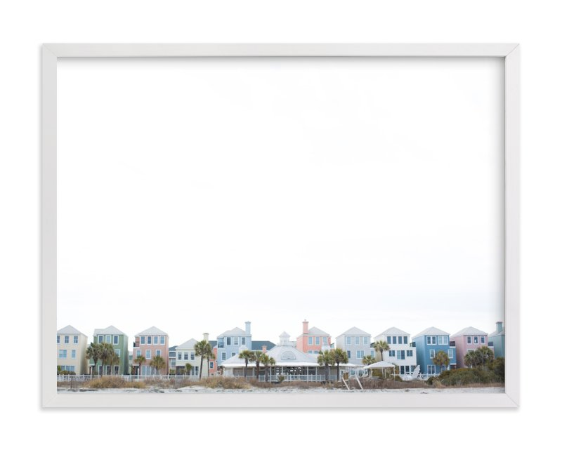 """Charleston Hues"" - Art Print by Melinda Denison in beautiful frame options and a variety of sizes."