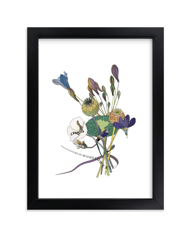 """Wild, Wild,Wildflowers"" - Art Print by Pat Jennings in beautiful frame options and a variety of sizes."
