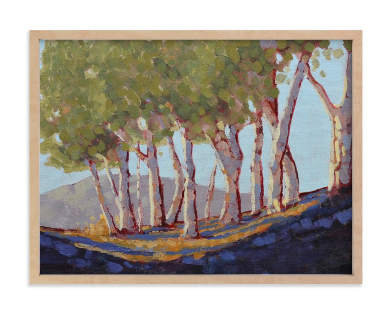 """""""Eucalyptus Grove"""" - Art Print by Rachel Nelson in beautiful frame options and a variety of sizes."""