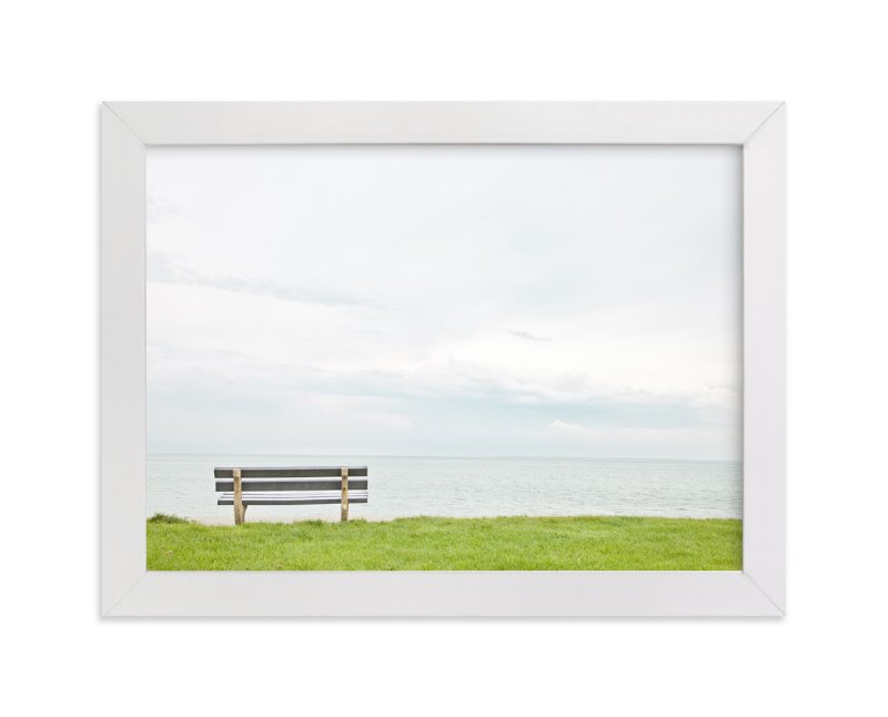 """""""Contemplating The Horizon"""" - Art Print by Alexandra Feo in beautiful frame options and a variety of sizes."""