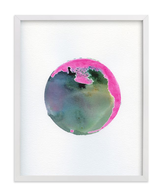 """""""No. 1 Departure"""" - Art Print by Stephanie Nowotarski in beautiful frame options and a variety of sizes."""