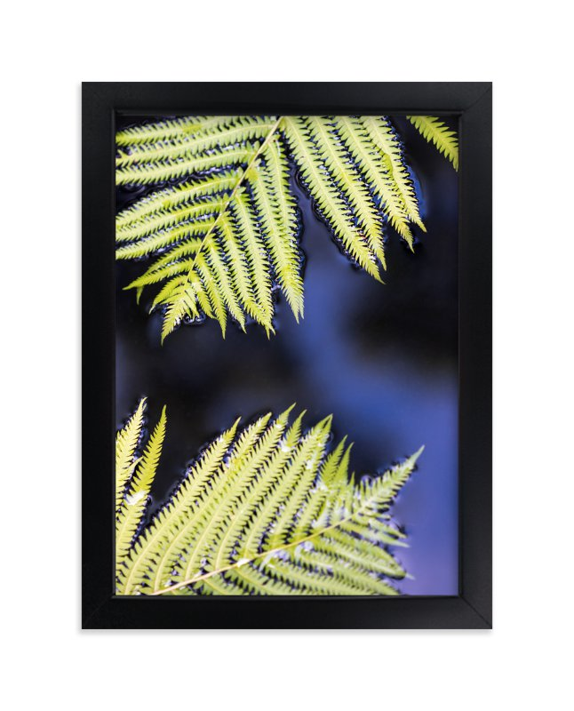 """""""Ferns and Water"""" - Art Print by Ilze Lucero in beautiful frame options and a variety of sizes."""