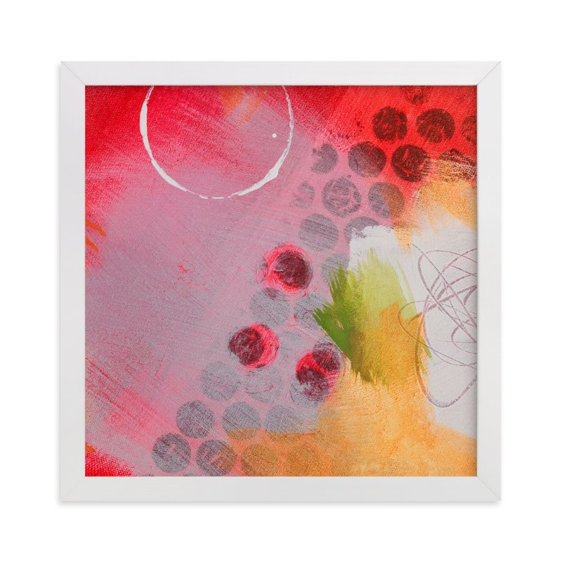 """Say You Don't Mind"" - Art Print by Stacy Kron in beautiful frame options and a variety of sizes."
