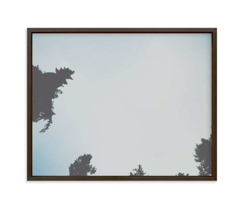 """look up 3"" - Art Print by blackwhite press in beautiful frame options and a variety of sizes."