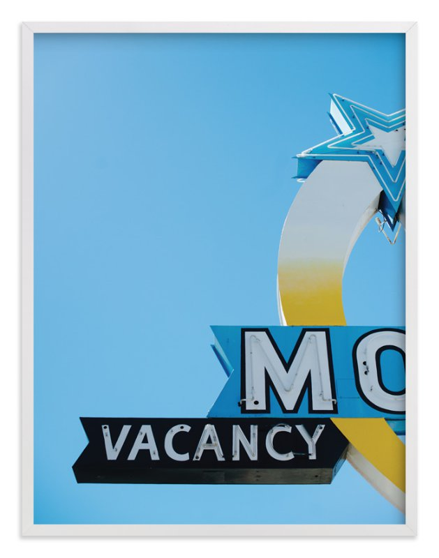 """Vacancy"" - Art Print by Jennifer Little in beautiful frame options and a variety of sizes."