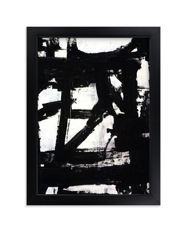 """""""Not Always Black + White"""" - Art Print by Ilana Greenberg in beautiful frame options and a variety of sizes."""