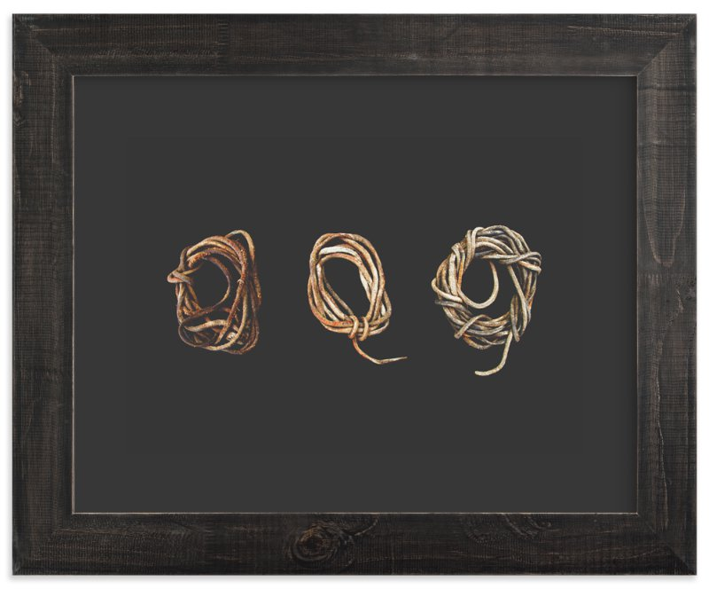 """""""Loosely Tied"""" - Art Print by Elemental in beautiful frame options and a variety of sizes."""