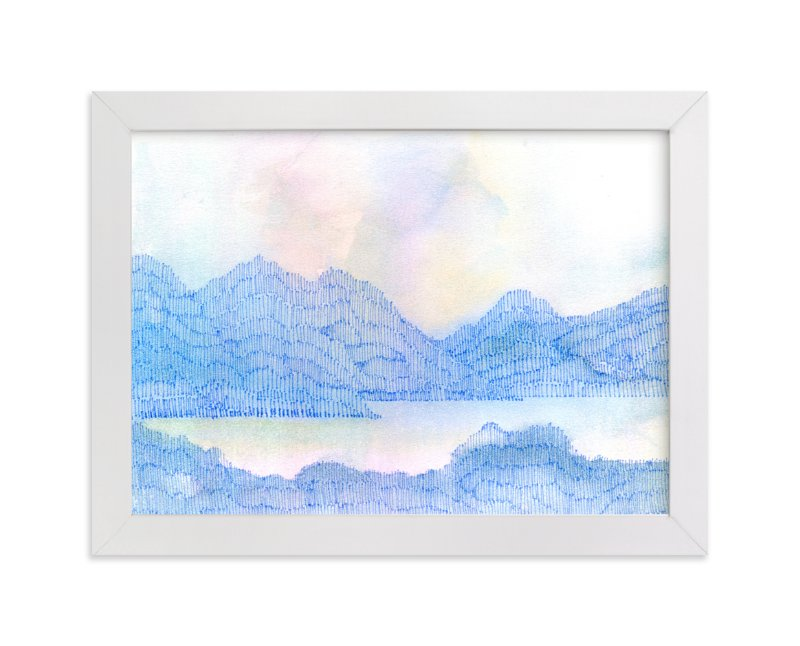 """""""High Mountain Dawn"""" - Art Print by Me Amelia in beautiful frame options and a variety of sizes."""