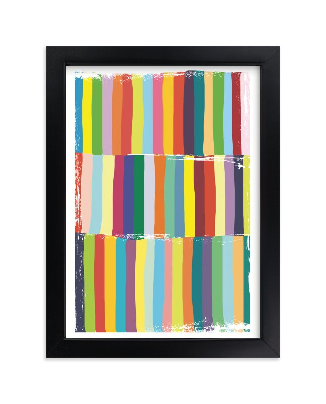"""""""Color Play"""" - Art Print by Gaucho Works in beautiful frame options and a variety of sizes."""