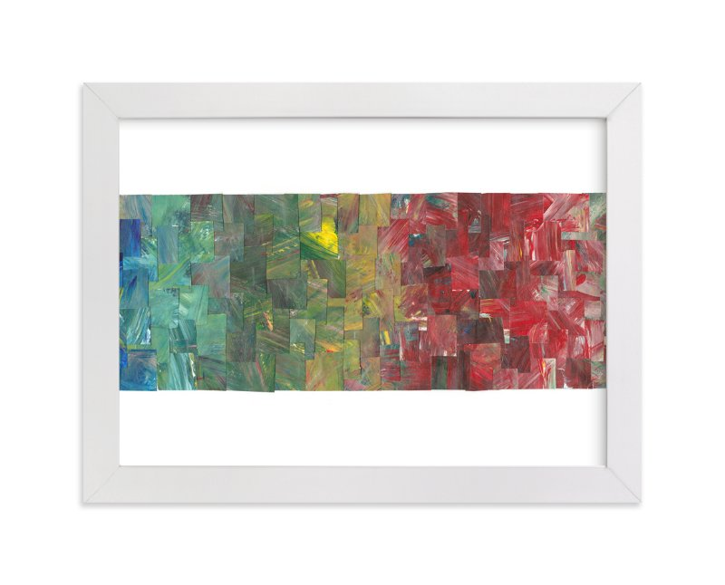 """""""Color Cascade"""" - Art Print by Josh McClendon in beautiful frame options and a variety of sizes."""