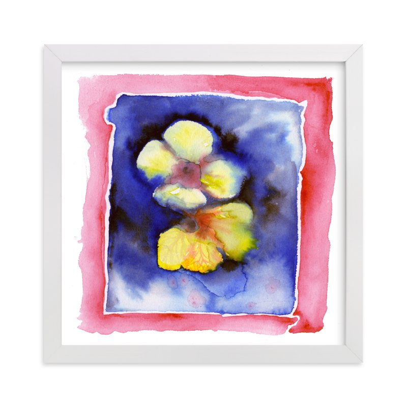 """""""Wild Yellows"""" - Art Print by Me Amelia in beautiful frame options and a variety of sizes."""