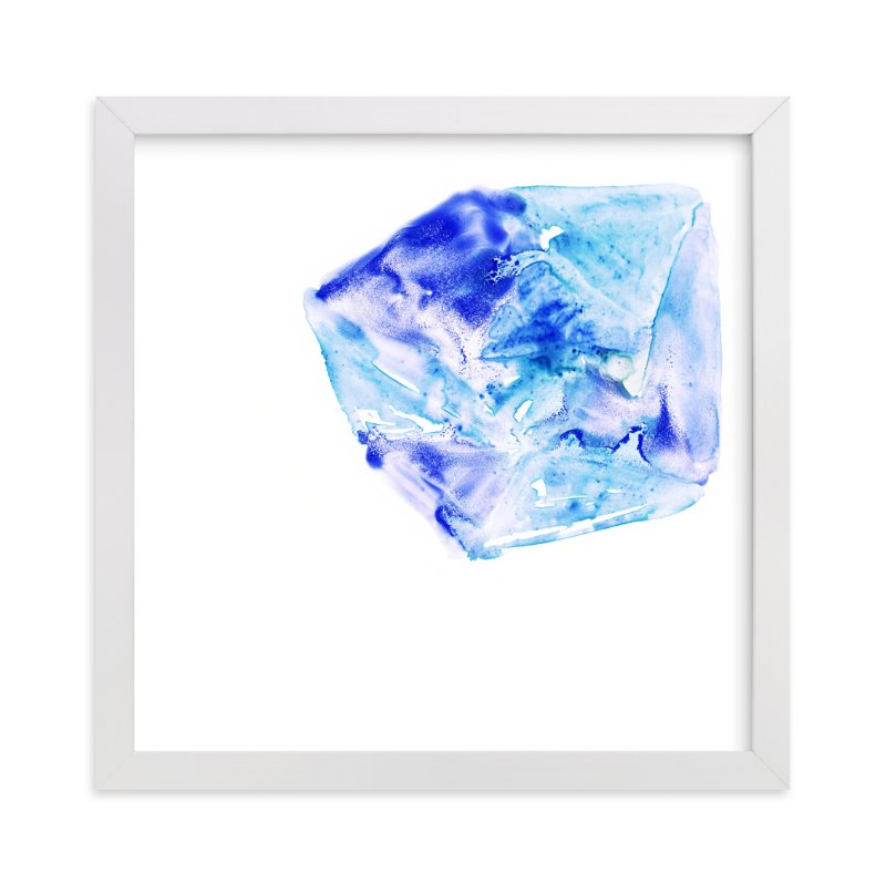 """Ice Thaw"" - Art Print by Michelle Waldie in beautiful frame options and a variety of sizes."