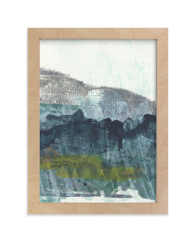 """""""Scape of the Land 2"""" - Art Print by Jennifer Daily in beautiful frame options and a variety of sizes."""