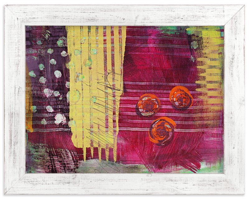 """""""Polygraph"""" - Art Print by Stacy Kron in beautiful frame options and a variety of sizes."""