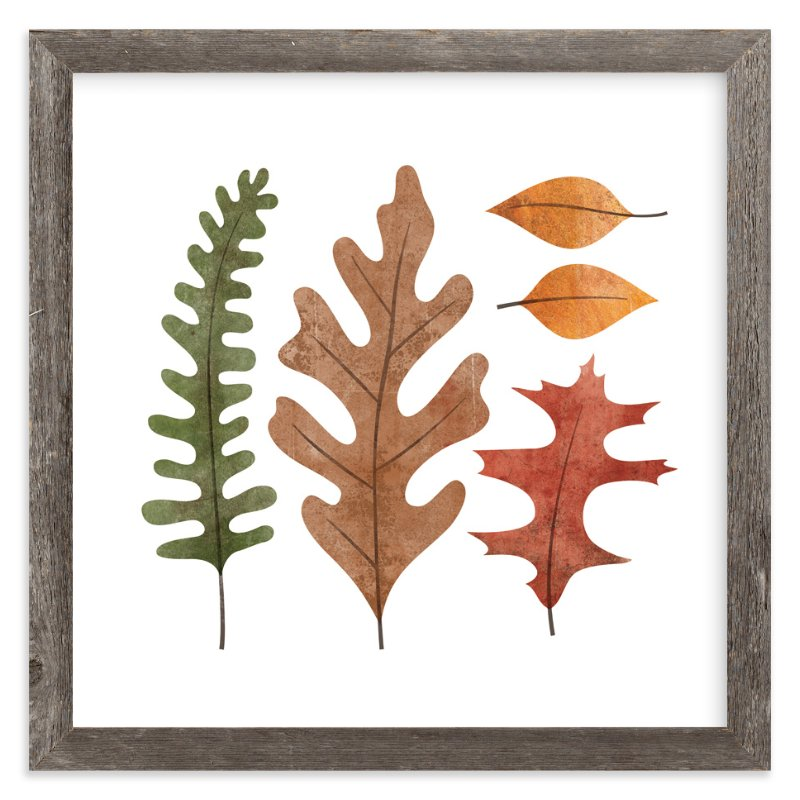 """""""Fallen Leaves"""" - Art Print by Ann Gardner in beautiful frame options and a variety of sizes."""
