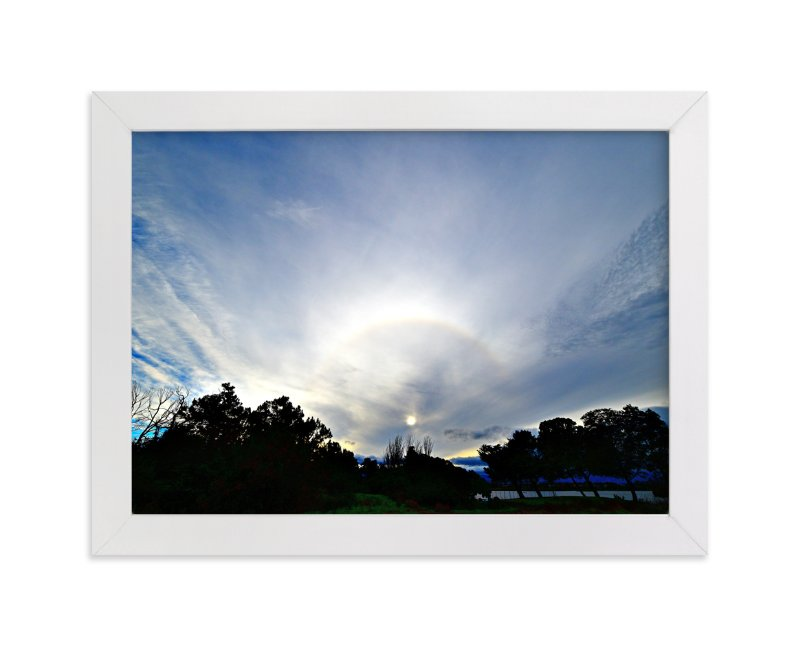 """""""Sun behind clouds"""" - Art Print by NSMARK in beautiful frame options and a variety of sizes."""