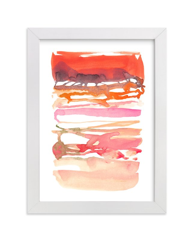 """Formation"" - Art Print by Kelly Ventura in beautiful frame options and a variety of sizes."