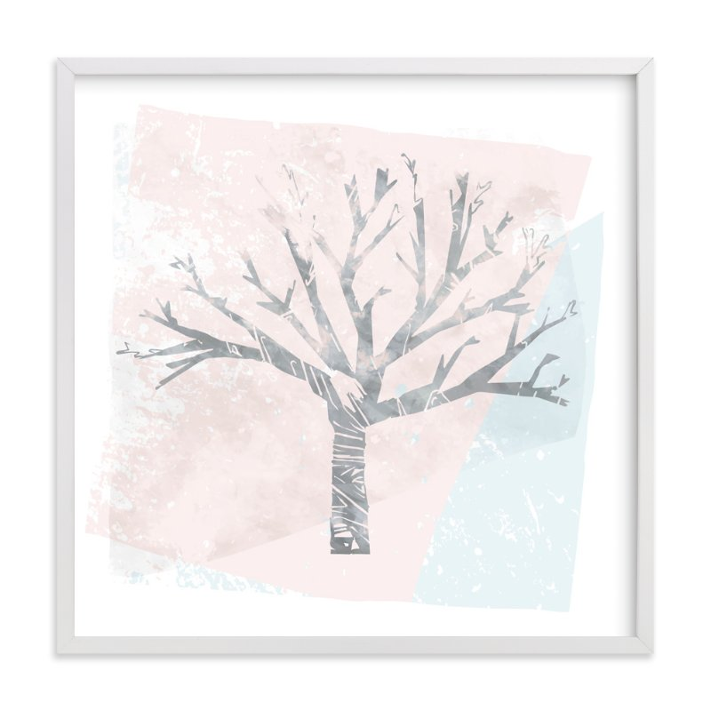"""""""Winter Twilight"""" - Art Print by Melissa Ponicsan in beautiful frame options and a variety of sizes."""