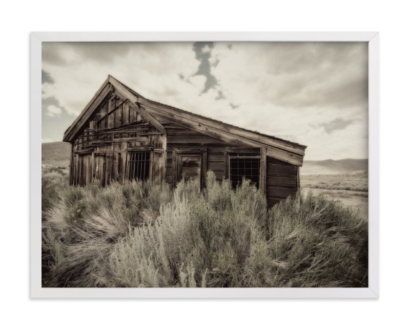 """""""Buildings of Bodie, CA :: II"""" - Art Print by Kellie Medivitz in beautiful frame options and a variety of sizes."""