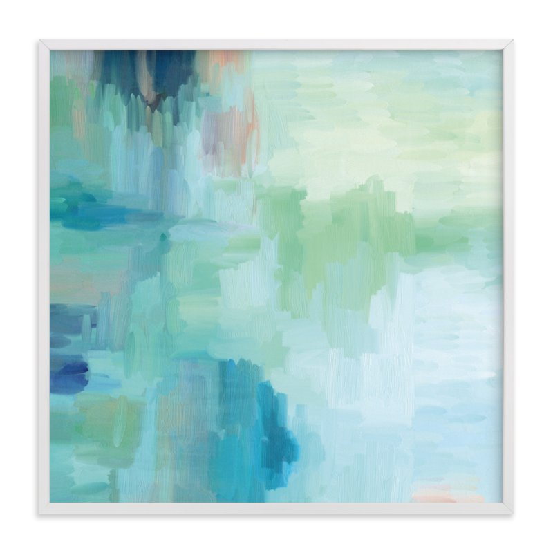 """Summer Reflections"" - Art Print by Amy Hall in beautiful frame options and a variety of sizes."