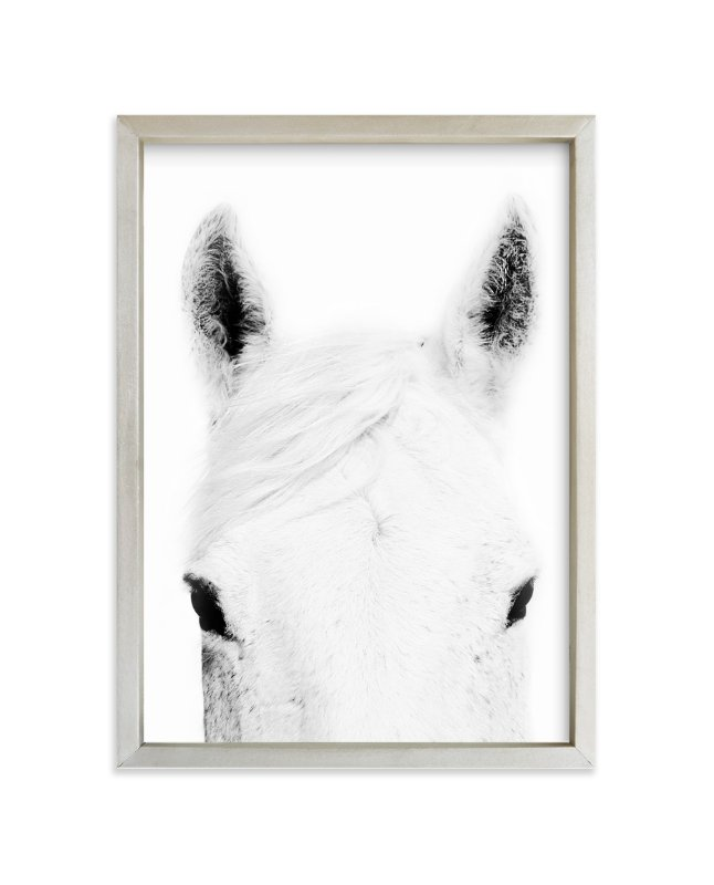 """""""Snow Ready"""" - Art Print by Robin Ott in beautiful frame options and a variety of sizes."""
