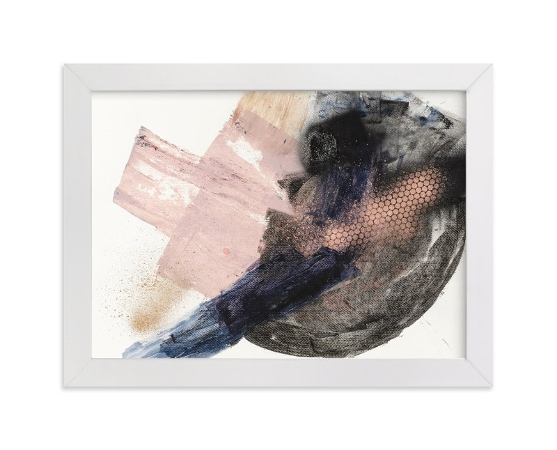 """""""Settling In"""" - Art Print by Lauren Packard in beautiful frame options and a variety of sizes."""