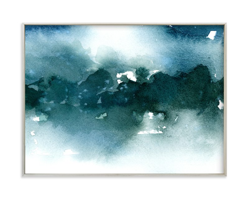 """""""Distant Dusk I"""" - Art Print by Lindsay Megahed in beautiful frame options and a variety of sizes."""