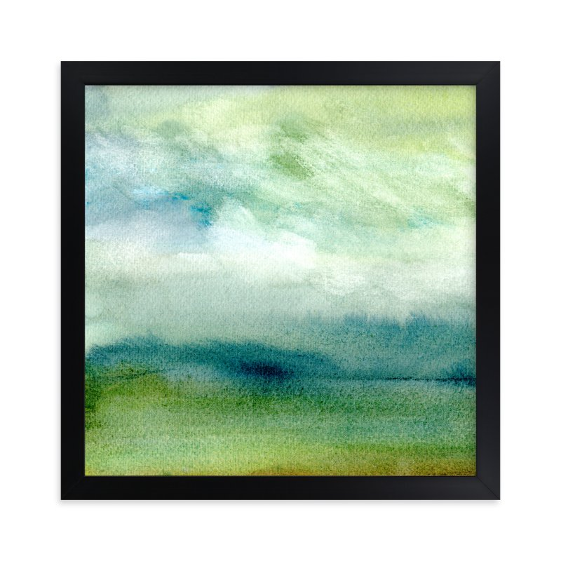 """""""Tidal Marsh"""" - Art Print by Sandra Ovono in beautiful frame options and a variety of sizes."""